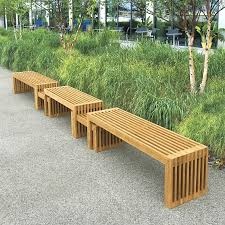 uncategorized outdoor backless benches design within brilliant