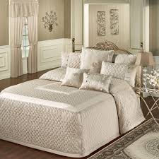 What Is Coverlet In Bedding Silk Allure Fawn Tailored Oversized Quilted Bedspread Bedding