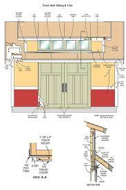 Floor Plans Storage Sheds 12 16 Storage Shed Plans U0026 Blueprints For Large Gable Shed With Dormer