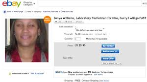 Online Resumes Website by Woman Puts Herself And Resume On Ebay
