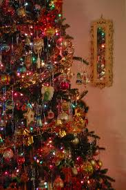 christmas tree tinsel image result for fashioned christmas tree with tinsel oh