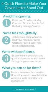 how to quickly write a killer cover letter writing process