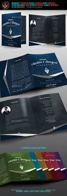 banquet program templates souvenir book graphics designs templates from graphicriver