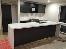 Prefabricated Kitchen Island by Prefabricated Carrara Quartz Benchtop Prefabricated Benchtops