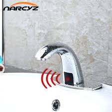 Touch Free Faucets Kitchen Touch Faucet Bathroomkitchen Modern Faucets Brushed Nickel Kitchen