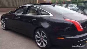 jaguar xj d v6 portfolio black 2016 youtube