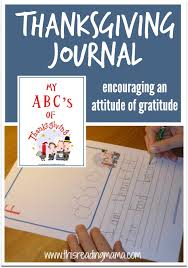 thanksgiving journal my abc s of thanksgiving journal thanksgiving journal and