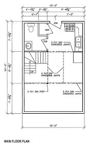 16 x 24 cabin floor plans plans free 16 x 24 cabin plans jackochikatana