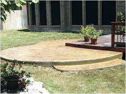 concrete backyard ideas home design backyard concrete patio ideas