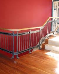 coloured glass balustrade tasman forge