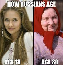 Russians Meme - how russians age 9gag