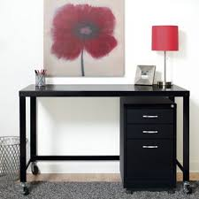 Desk With Filing Cabinet Drawer Writing Desk With File Cabinet Wayfair