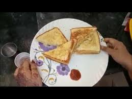 Toasting Bread Without A Toaster Bread Toast Without Toaster Try It Youtube