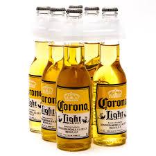 alcohol in corona vs corona light corona light 6 pack 12oz bottles beer wine and liquor delivered