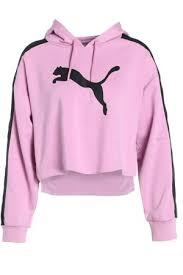 puma cropped hoodie women u0027s hoodies compare prices and buy online