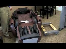 Inada Massage Chair Inada Sogno Massage Chair Moving The Chair Youtube