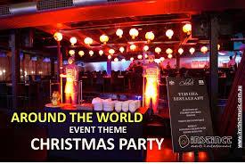 around the world event theme instinct events