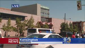 kensington philadelphia police investigate shooting near in kensington cbs philly