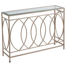 Wrought Iron Console Table Elana Bronze Iron Console Table Pier 1 Imports Thesoundlapse