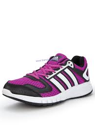adidas galaxy trainers purple white womens trainers colour