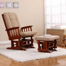 Rocking Chair Cushion Sets Bedroom Sophisticated Dutailier Sleight Glider Furnishing Your