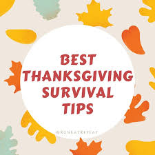 best thanksgiving survival tips via gifs run eat repeat