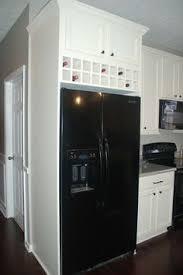 diy over fridge cabinet wine storage cabinets pinterest wine