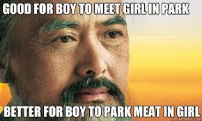 Confucius Says Meme - want confucius meme back you say i present confucius mk 2 rebrn com
