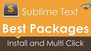 sublime text 3 best packages 1 install and basic settings