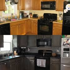 Kitchen Cabinet Transformations Rustoleum Countertop Transformation And Cabinet Transformation