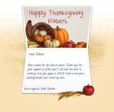 ecards for business happy holidays thanksgiving