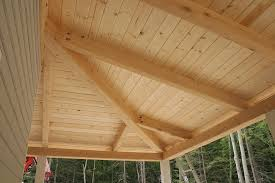 Pine Ceiling Boards by Casco Bay Bungalow In A Box