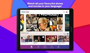 tata sky apk tata sky mobile live tv sports recharge apk