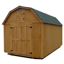 12x16 gambrel barn shed 12x16 gambrel with red siding end view