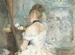 Berthe Morisot Lady At Her Toilette The Art Institute Of Chicago - Berthe morisot in the dining room