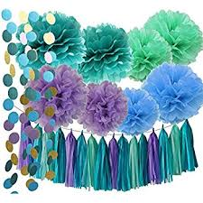 the sea party the sea party supplies mermaid decorations teal