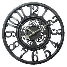 horloge murale engrenage horloge murale hometrends à mécanisme apparent walmart canada