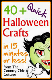 Halloween Crafts For Teens - quick halloween crafts over 40 ideas under 15 minutes the