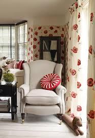 freshford floral red wallpaper laura ashley usa work space