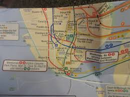 Houston Tunnel Map Changes In The July 2017 Subway Map New York City Subway Nyc
