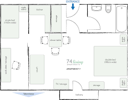 Tv Studio Floor Plan by 74living At Business Apartment 7