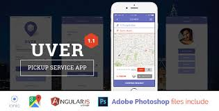 delivery service app uver deliver service template by cuongvq codecanyon
