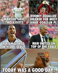 Today Was A Good Day Meme - today was a good day for man united soccer memes goal91