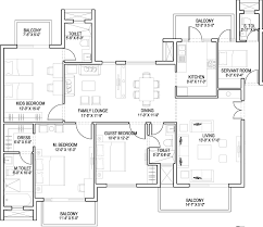 Breeze House Floor Plan by Assotech Breeze In Sector 88b Gurgaon Price Location Map