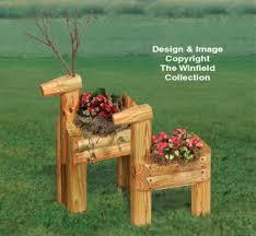 Landscape Timber Bench Planter Woodworking Plans Landscape Timber Reindeer Planters Pattern