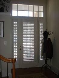 Plantation Shutters On Sliding Patio Doors by Hmmmm Nerver Thought About Using Plantation Shutters For The