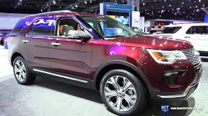 Ford Explorer Colors - 2018 ford explorer exterior and interior walkaround 2017 new