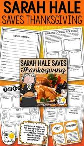 hale literature guide how thanksgiving became a national