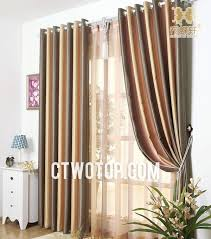 Multi Color Curtains Multi Colors Lineate Living Room Style Striped Curtains
