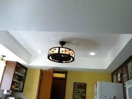 Kitchen Fan Light Fixtures Low Profile Ceiling Light Fixtures Stylish Kitchen Lighting